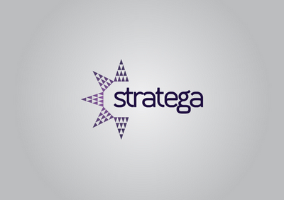 Logo Design process for Stratega Group Ltd