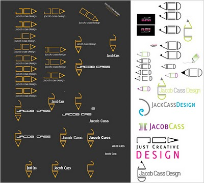 Logo Design Process for Just Creative Design`s Award Winning Logo